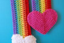 Crochet Scarves, Hats, Shoes/Slippers / by Amanda Homan Slavings