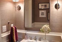 ~Bathroom~ Wallpaper Ideas / by Bea Penate