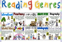 Genres in Reading / Activities and printables  to help elementary students learn about genres in the classroom or library / by Cari Young