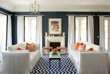 rugs & lighting / by Beth Barden || designPOST interiors
