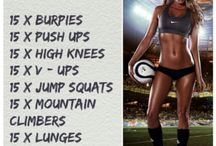 Workout Ideas / by Jess Milcetich