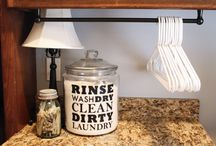 Laundry Room Ideas / by Michelle Hatch
