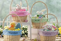 """Easter! / Personalized Easter Baskets, Kids Apparel, decorations and much more! #Easter #Easterdecor #EasterEggs #EasterBasket #EasterBunny #PMall.com. As a """"Thank You"""" for following us, use code PMALLPINS at checkout to get free shipping on orders of $65 or more! / by PersonalizationMall.com (PMall.com)"""