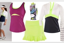 Neon Golf / One of this spring/summer 2012 fashion trends in women's golf fashion is neon. Sorry 1980's, meet the new neons and super bright colors of today! / by Golf4Her