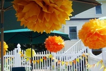 Orange party / by Victoria Cadness