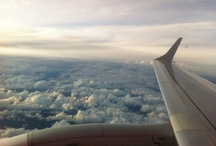 Up in the Air / I travel, a lot. / by Stephenie Rodriguez