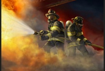 FIRE / This board is dedicated to the fire service and all who have bravely served.  / by Shelly Cochran