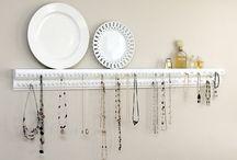 Jewelry Organization / by Jennifer Tough