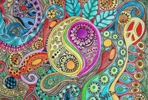 Art and Doodle, zentangle / by Debra Gunderman