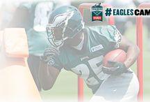 #EaglesCamp / by Philadelphia Eagles