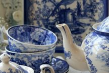 Blue & White things I love / My blue and white addiction / by Audrey Klippenstein