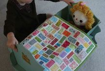 Doll and mini quilts / by Jane Reeves