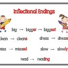 Inflected Endings / by Cathy Walradth