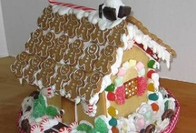gingerbread houses / by Rachel B