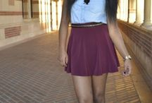 College Fashionista / by Bethelehem Teshome