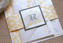 Yellow and Gray / by Whimsy B. Designs