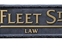 Fleet Street Law  /  a full service legal association in Toronto / by Omar Ha-Redeye