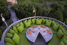 Patio ideas / by Debbie (Sand Reed) Landwehr