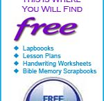 Free homeschool stuff  / by Leslie @ Chips Off The Old Block