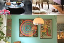 LIVING SPACES / Home sweet home / by Ann Zangs