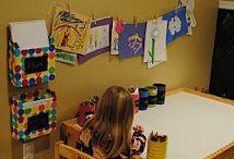 Playroom/bonus room in basement / by Maggie Schnur