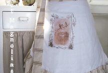 aprons, pot holders,tea towels / by Debbie Floyd