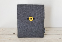 iPad Soul Sleeve / Hand-made, comfortable to hold, eco-friendly and hyper-stylish. Designed for those who seek a cozier side for their iPad. / by Day of the Thread