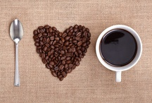 Coffee love / I truly enjoy a REAL cup a coffee.  I have my own expresso machine and milk frother.  My favorite delight is café au lait (Latté) / by Eliane Davis