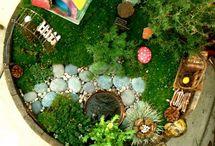 fairy gardens / by Melissa Hinnant Rogers