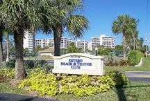 Rental PH # 2 / Heaven on Earth! Our 12th floor condo has a beautiful view of the gulf, bay, beach, marina and Golf course.The 12th floor condo has all gulf views and awesome sunsets. A lanai overlooking 10 acres of palm trees, flowers and a gorgeous fountain. Direct access to the 7 mile beach of gleaming white sands and the gulf and an estuary where birds feed throughout the day.  / by Vacation Rentals Estero Beach Fl.