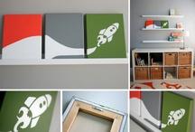 hugh + henry's rooms / by Elizabeth Trigg