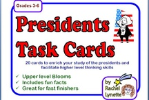 President's Day Activities / by Haley Hodges