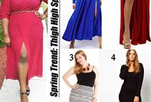 STYLISH CURVES PLUS SIZE TREND REPORT / by Alissa Wilson
