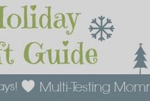 Canadian Holiday Gift Guides / Need some inspiration or some ideas for what to buy your friends and family this upcomimg Holiday season?  You have come to the right place! / by Multi-Testing Mommy
