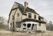 Abandoned & Forgotten Structures & The Interior / Abandoned,  falling apart houses,  a sad but beautiful past with craftsmanship that still is beautiful.  Breaks my heart when I look at these pictures!! / by Dianne Word