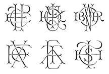 monograms / by sam penner