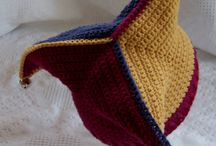 Crocheted hats and wristers / by Mary Payton