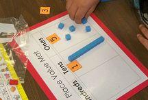 Base Ten Blocks / by Kristen's Kindergarten