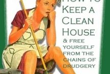 Let's Just Clean ~ Tips & Ideas / by Judy Freeman
