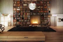 Bookcases, Closets, Stairs / by Dan Tran
