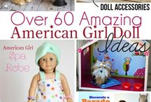 American girl doll crafts / by Jodi Pennala Black