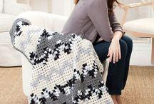Crochet - afghans, throws, blankets / by Linda Slater Barnes