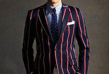 Speakeasy Soirée Men's Fashion Ideas / by Natalie Knox