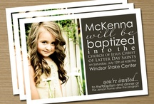 Church: Baptism ideas / by Shandra Mueller