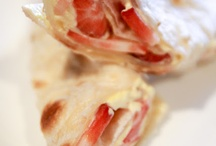 Food: Sandwiches/Wraps / by Tina Ernstrom