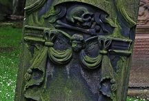 Cemetery Art and Gravestone/Tombstone Designs / by Casey Cañez
