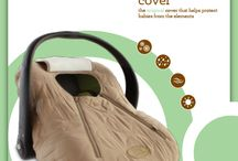 Cozy Cover / Cozy Cover is a warm and soft infant carrier cover that helps keep your loved one protected from the outdoor elements. It fits around any infant carrier just like a shower cap. Easy to use and a must have for on-the-go parents. / by Cozy Cover