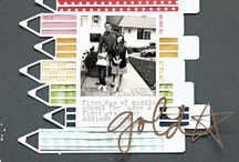 SCRAPBOOKING: PAGE IDEAS / by Get It Scrapped (Debbie Hodge)