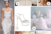 White Color inspiration / by Be U Weddings