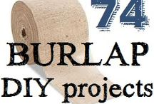 burlap projects / by Teri Mosley